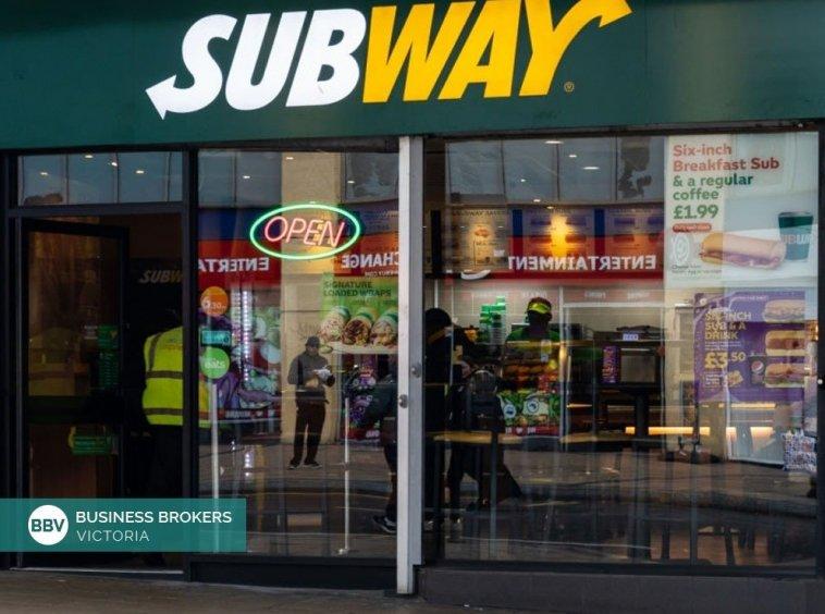 Subway Franchise Business sale